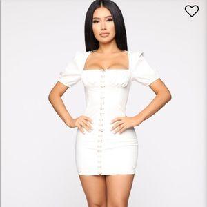 Fashion Nova Dresses - Fashion Nova white dress